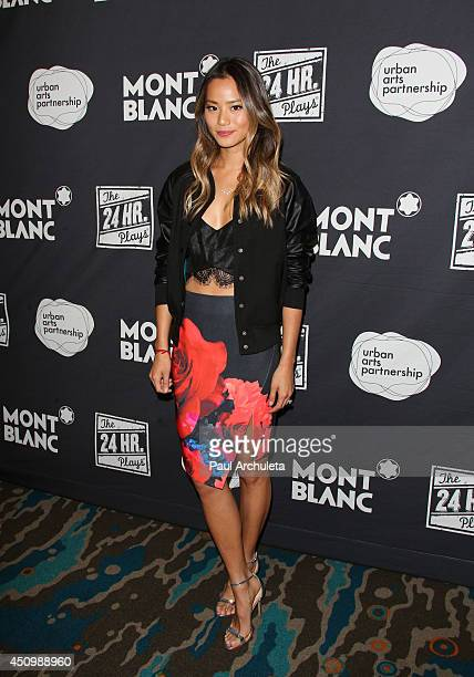 Actress Jamie Chung attends the 4th annual production of the 24 Hour Plays In Los Angeles to benefit Urban Arts Partnership at The Shore Hotel on...