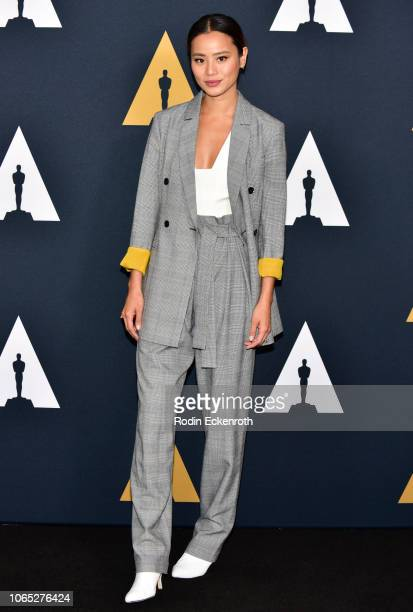 Actress Jamie Chung attends the Academy Nicholl Fellowships in Screenwriting Awards and Live Read at Samuel Goldwyn Theater on November 08, 2018 in...
