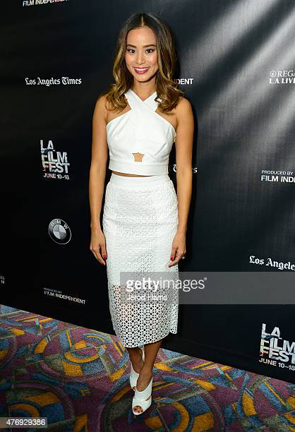 Actress Jamie Chung attends the 'It's Already Tomorrow in Hong Kong' screening during the 2015 Los Angeles Film Festival at Regal Cinemas LA Live on...