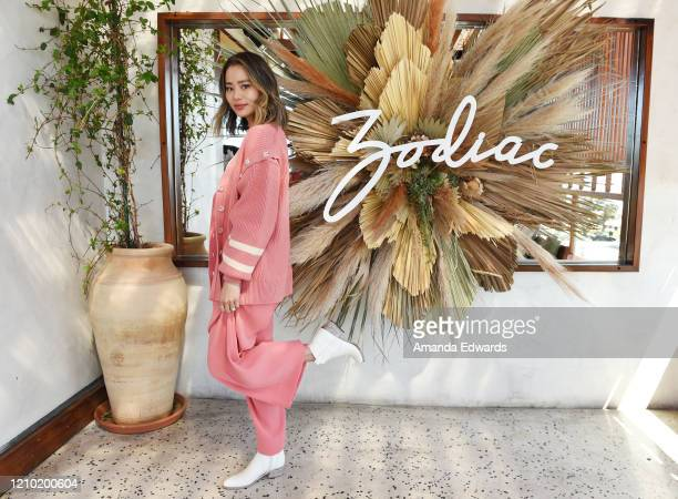 Actress Jamie Chung attends the launch event for Zodiac Footwear at Elephante on March 03 2020 in Santa Monica California