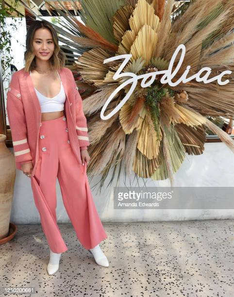 Actress Jamie Chung attends the launch event for Zodiac Footwear at Elephante on March 03, 2020 in Santa Monica, California.