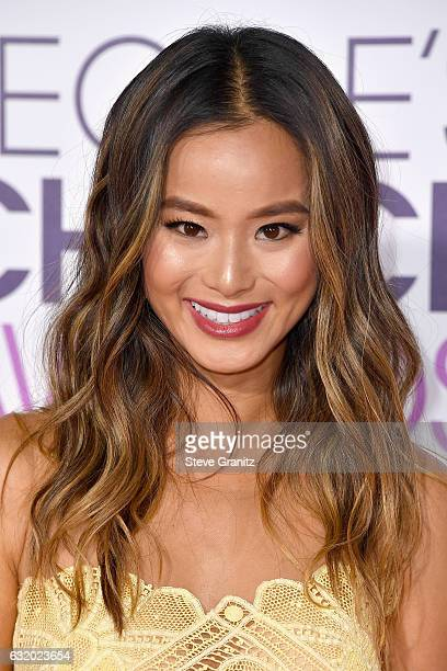 Actress Jamie Chung attends the People's Choice Awards 2017 at Microsoft Theater on January 18 2017 in Los Angeles California