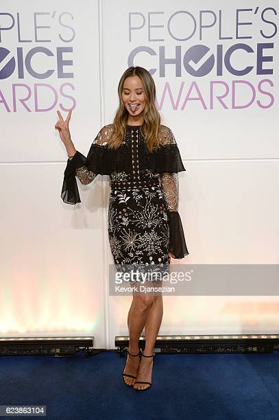 Actress Jamie Chung attends the People's Choice Awards Nominations Press Conference at The Paley Center for Media on November 15 2016 in Beverly...