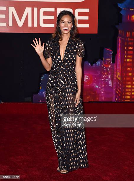 Actress Jamie Chung attends the premiere of Disney's Big Hero 6 at the El Capitan Theatre on November 4 2014 in Hollywood California