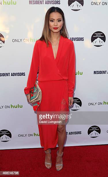 Actress Jamie Chung attends the premiere of Paramount and Hulu's Resident Advisors at the Sherry Lansing Theatre at Paramount Studios on March 31...