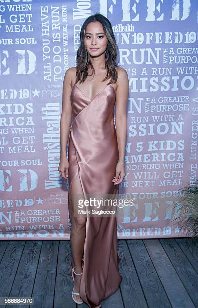 Actress Jamie Chung attends the Women's Health Magazine Party Under the Stars at Bridgehampton Surf Tennis on August 6 2016 in Bridgehampton New York