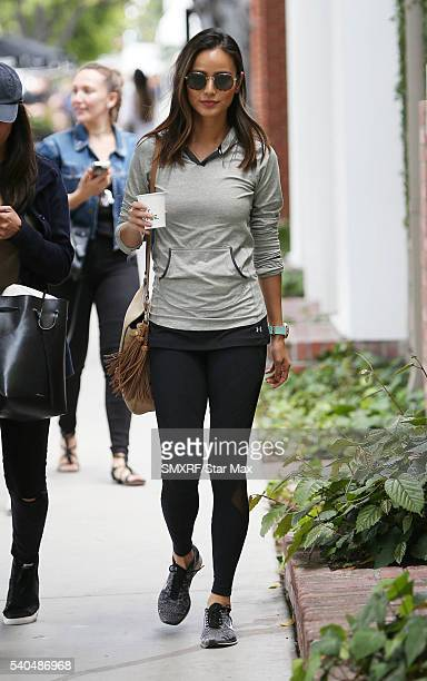 Actress Jamie Chung is seen on June 15 2016 in Los Angeles California
