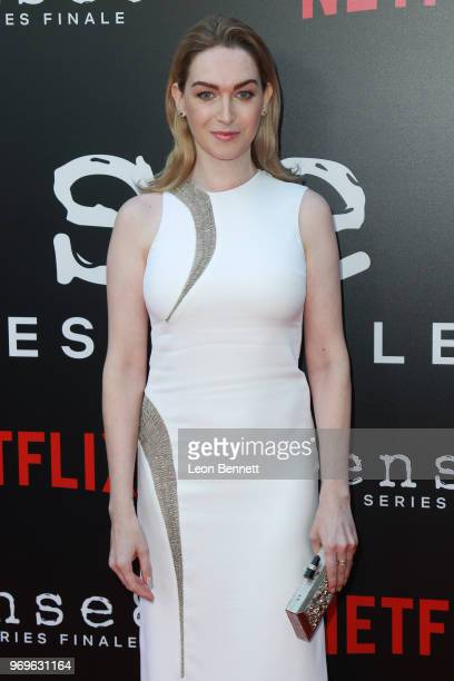 Actress Jamie Clayton attends Netflix's Sense8 Series Finale Event at ArcLight Hollywood on June 7 2018 in Hollywood California