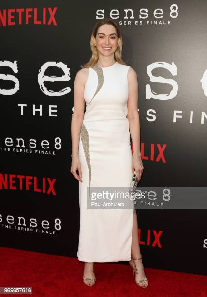 Actress Jamie Clayton attends Netflix's Sense8 series finale event at the ArcLight Hollywood on June 7 2018 in Hollywood California