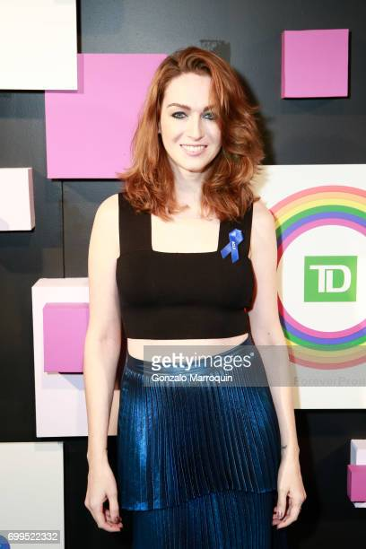 Actress Jamie Clayton attends the 2017 Village Voice Pride Awards at Capitale on June 21 2017 in New York City