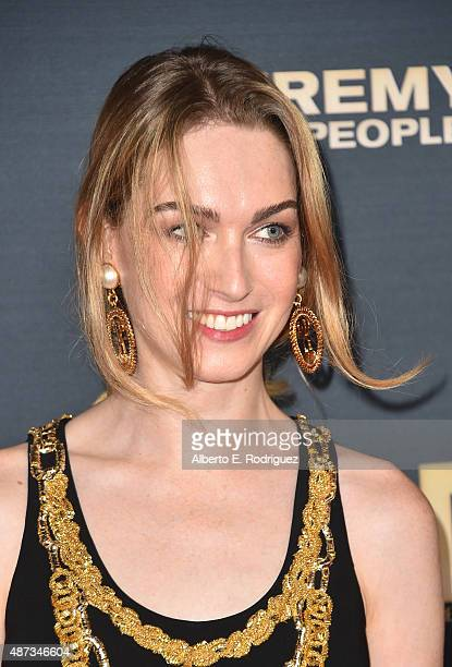 Actress Jamie Clayton attends the premiere of The Vladar Company's Jeremy Scott The People's Designer at TCL Chinese 6 Theatres on September 8 2015...