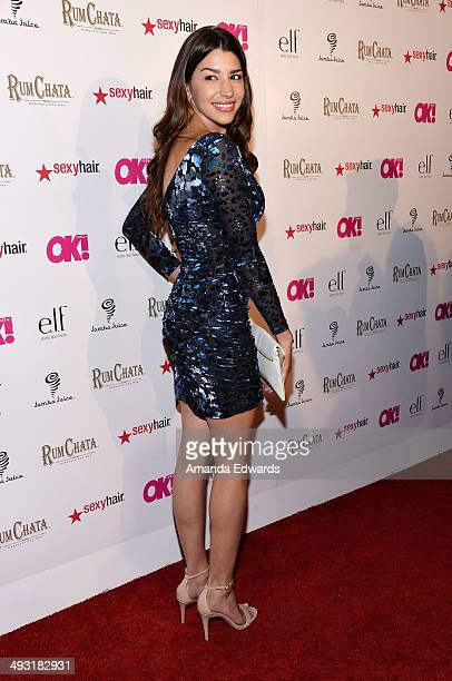 Actress Jamie Gray Hyder arrives at OK Magazine's So Sexy LA Event at Lure on May 21 2014 in Hollywood California