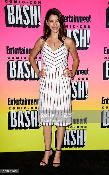 Actress Jamie Gray Hyder attends Entertainment Weekly's ComicCon Bash held at Float Hard Rock Hotel San Diego on July 23 2016 in San Diego California...