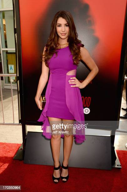 Actress Jamie Gray Hyder attends HBO's True Blood season 6 premiere at ArcLight Cinemas Cinerama Dome on June 11 2013 in Hollywood California