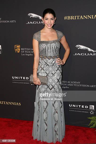 Actress Jamie Gray Hyder attends the BAFTA Los Angeles Jaguar Britannia Awards presented by BBC America and United Airlines at The Beverly Hilton...
