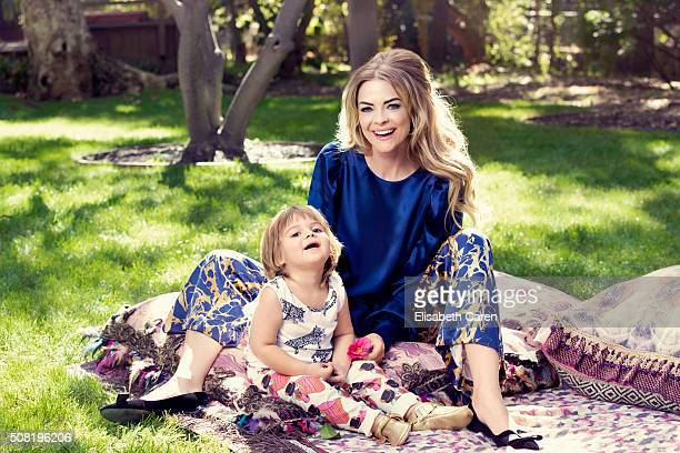 Actress Jamie King and son James Knight are photographed for Viva on October 13 2015 in Los Angeles California PUBLISHED IMAGE