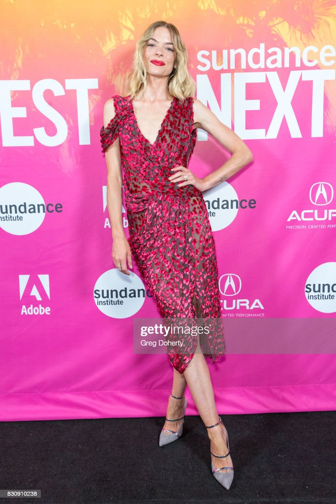 Actress Jamie King arrives for the 2017 Sundance NEXT FEST at The Theater at The Ace Hotel on August 12, 2017 in Los Angeles, California.