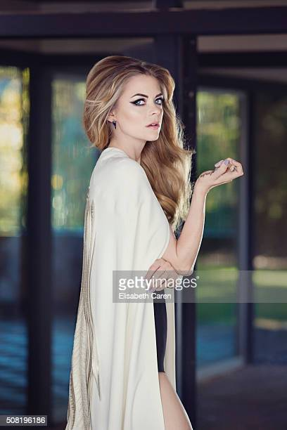 Actress Jamie King is photographed for Viva on October 13 2015 in Los Angeles California PUBLISHED IMAGE