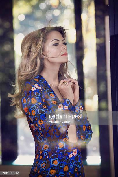 Actress Jamie King is photographed for Viva on October 13 2015 in Los Angeles California