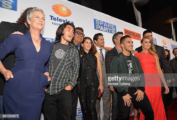 Actress Jamie Lee Curtis actor Jose Julian comedian George Lopez actors Marisa Tomei David Del Rio Carlos PenaVega Esai Morales Elizabeth Small Alexa...