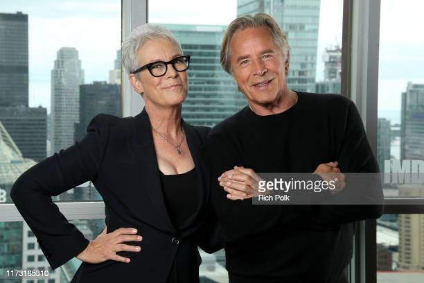 Actress Jamie Lee Curtis and actor Don Johnson of 'Knives Out' attend The IMDb Studio Presented By Intuit QuickBooks at Toronto 2019 at Bisha Hotel &...