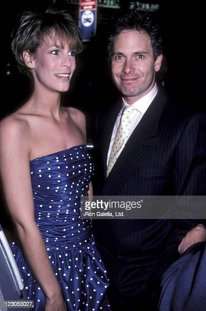 Actress Jamie Lee Curtis and actor/writer Christopher Guest attend the Perfect New York City Premiere on May 29 1985 at the Coronet Theater in New...