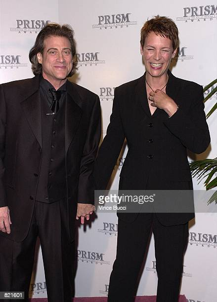 Actress Jamie Lee Curtis and cohost Richard Lewis attend the 5th Annual Prism Awards presented by the Entertainment Industries Council which honored...