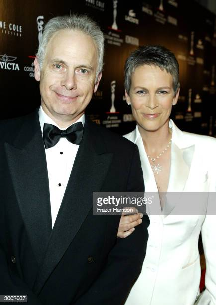 Actress Jamie Lee Curtis and her husband Christopher Guest attend the 6th Annual Costume Guild Awards in the International Ballroom at the Beverly...