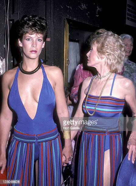 Actress Jamie Lee Curtis and mother actress Janet Leigh attend the Young Musicians Foundation's Second Annual Celebrity Mother/Daughter Fashion Show...