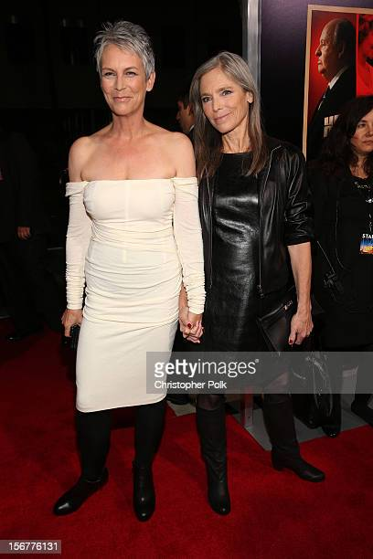 """Actress Jamie Lee Curtis and sister Kelly Lee Curtis arrive at the premiere of Fox Searchlight Pictures' """"Hitchcock"""" at the Academy of Motion Picture..."""