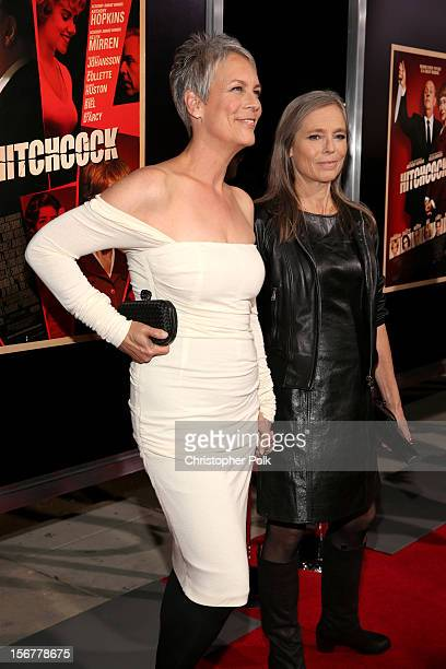 Actress Jamie Lee Curtis and sister Kelly Lee Curtis arrive at the premiere of Fox Searchlight Pictures' Hitchcock at the Academy of Motion Picture...