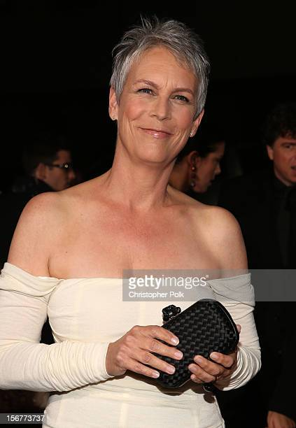 "Actress Jamie Lee Curtis arrives at the premiere of Fox Searchlight Pictures' ""Hitchcock"" at the Academy of Motion Picture Arts and Sciences Samuel..."