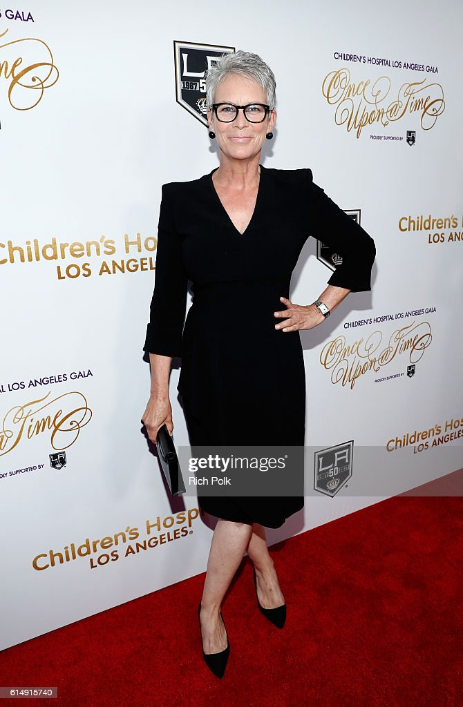 Actress Jamie Lee Curtis attends 2016 Children's Hospital Los Angeles 'Once Upon a Time' Gala at The Event Deck at L.A. Live on October 15, 2016 in Los Angeles, California.