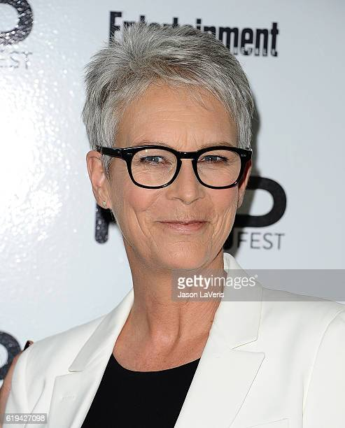 Actress Jamie Lee Curtis attends Entertainment Weekly's Popfest at The Reef on October 30 2016 in Los Angeles California
