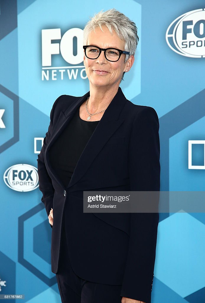 Actress Jamie Lee Curtis attends FOX 2016 Upfront Arrivals at Wollman Rink, Central Park on May 16, 2016 in New York City.