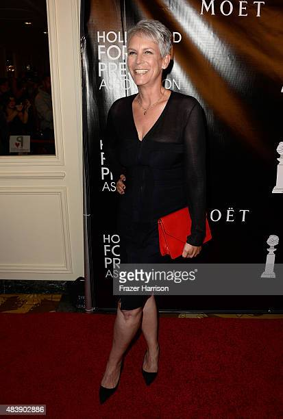 Actress Jamie Lee Curtis attends HFPA Annual Grants Banquet at the Beverly Wilshire Four Seasons Hotel on August 13 2015 in Beverly Hills California