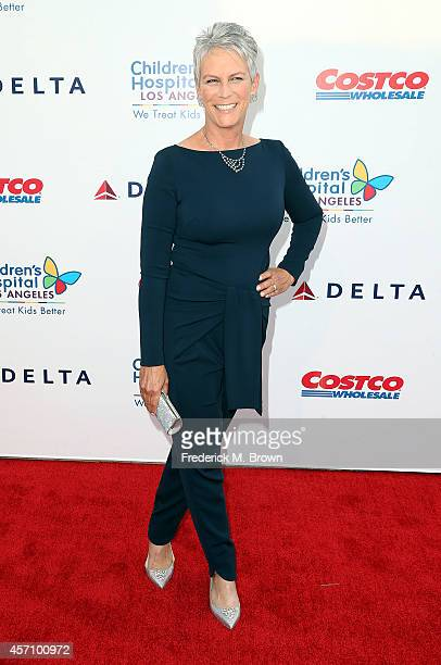 Actress Jamie Lee Curtis attends the 2014 Children's Hospital Los Angeles Gala Noche De Ninos at LA Live Event Deck on October 11 2014 in Los Angeles...
