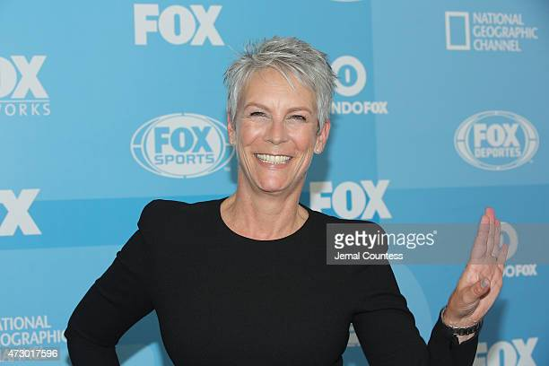Actress Jamie Lee Curtis attends the 2015 FOX programming presentation at Wollman Rink in Central Park on May 11 2015 in New York City