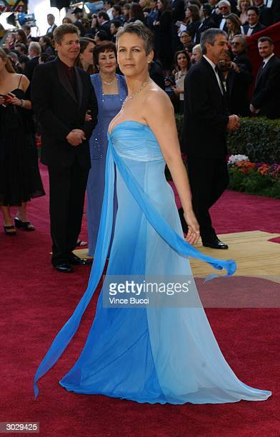 Actress Jamie Lee Curtis attends the 76th Annual Academy Awards at the Kodak Theater on February 29 2004 in Hollywood California