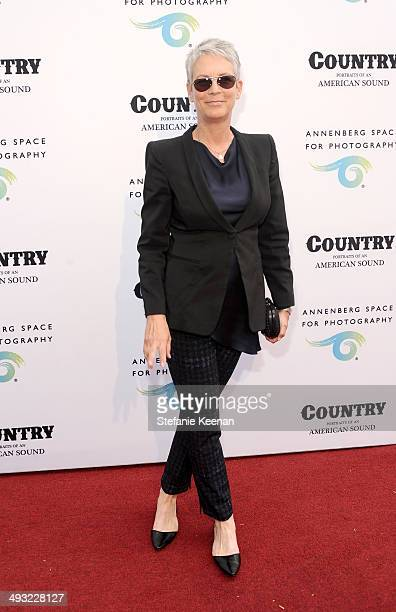 Actress Jamie Lee Curtis attends the Annenberg Space for Photography Opening Celebration for Country Portraits of an American Sound at the Annenberg...
