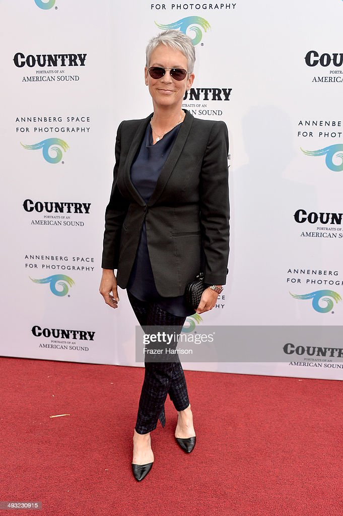 Actress Jamie Lee Curtis attends the Annenberg Space for Photography Opening Celebration for 'Country, Portraits of an American Sound' at the Annenberg Space for Photography on May 22, 2014 in Century City, California.