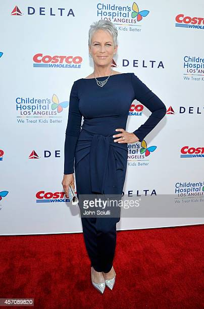 Actress Jamie Lee Curtis attends the Children's Hospital Los Angeles' Gala Noche De Ninos at LA Live on October 11 2014 in Los Angeles California