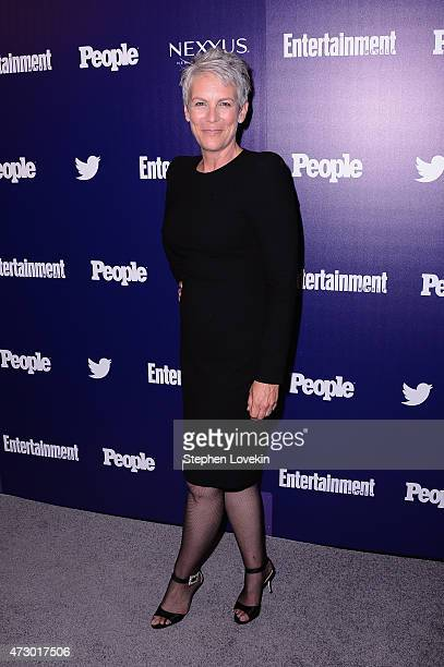 Actress Jamie Lee Curtis attends the Entertainment Weekly and PEOPLE celebration of The New York Upfronts at The Highline Hotel on May 11 2015 in New...