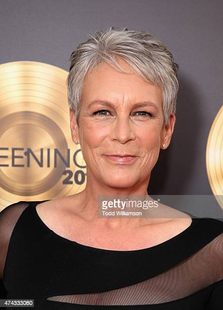 Actress Jamie Lee Curtis attends the FOX Los Angeles Screenings Party 2015 on the Fox Studio Lot on May 21 2015 in Los Angeles California