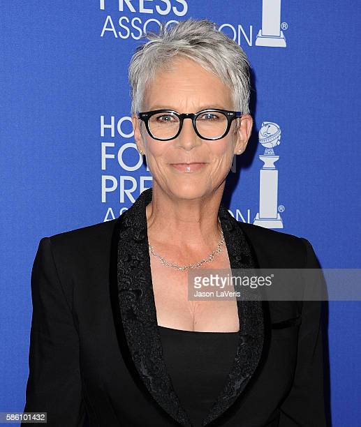 Actress Jamie Lee Curtis attends the Hollywood Foreign Press Association's grants banquet at the Beverly Wilshire Four Seasons Hotel on August 4 2016...