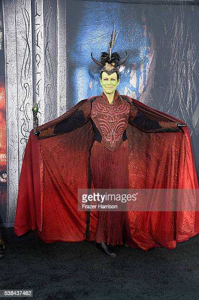 Actress Jamie Lee Curtis attends the premiere of Universal Pictures' 'Warcraft' at TCL Chinese Theatre IMAX on June 6 2016 in Hollywood California