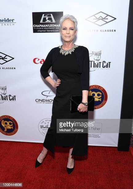 Actress Jamie Lee Curtis attends the Society of Camera Operators Lifetime Achievement Awards 2020 at Loews Hollywood Hotel on January 18 2020 in...