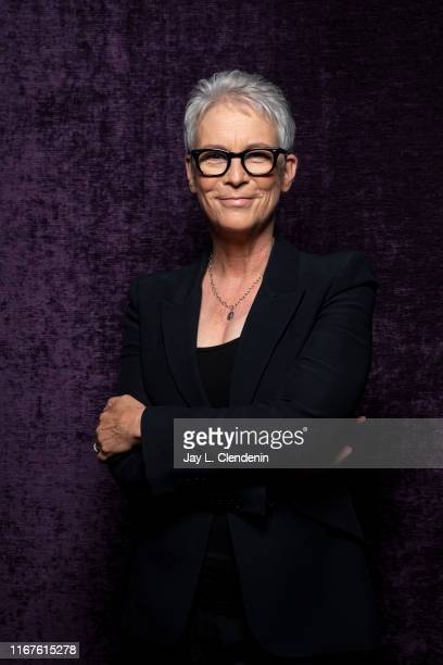 Actress Jamie Lee Curtis from 'Knives Out' is photographed for Los Angeles Times on September 8 2019 at the Toronto International Film Festival in...