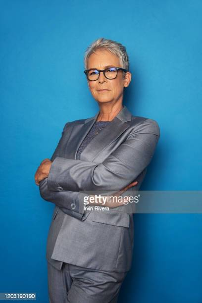Actress Jamie Lee Curtis from 'Knives Out' is photographed for the Wrap Magazine on September 7 2019 in Toronto Canada