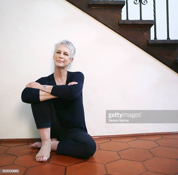 Actress Jamie Lee Curtis is photographed for Los Angeles Times on December 15 2015 in Los Angeles California PUBLISHED IMAGE CREDIT MUST READ Genaro...